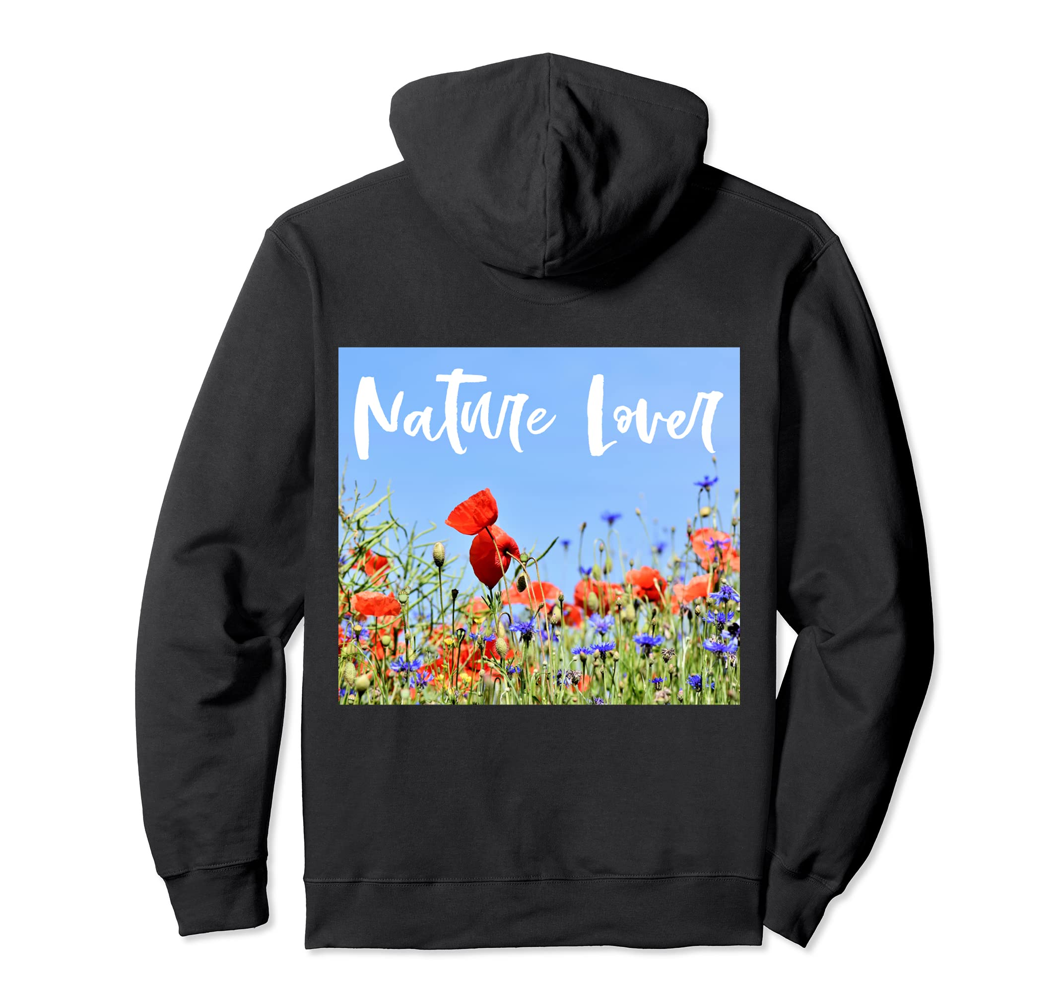 Funny Botanical Art Hoodies   Field Of Poppies Hoodie
