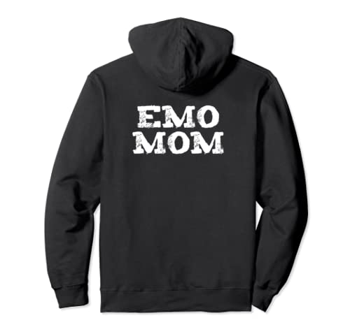 Funny Emo Mom Goth Punk Mother's Day Gift Pullover Hoodie