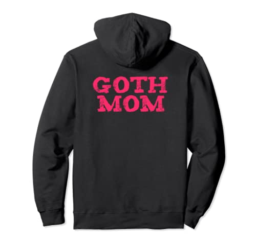 Funny Goth Mom Emo Punk Mother's Day Gift Pullover Hoodie