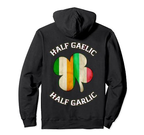 Funny Irish Italian Shirts For Women Men St Patrick's Gift Pullover Hoodie