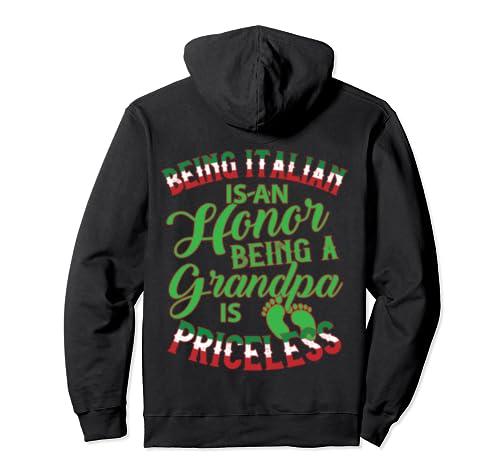 Italian Grandpa Pullover Hoodie