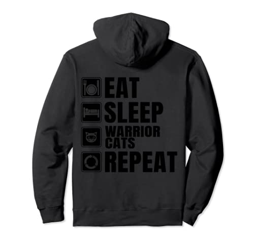 Funny Warrior Cats Apparel Warrior Cats Pullover Hoodie