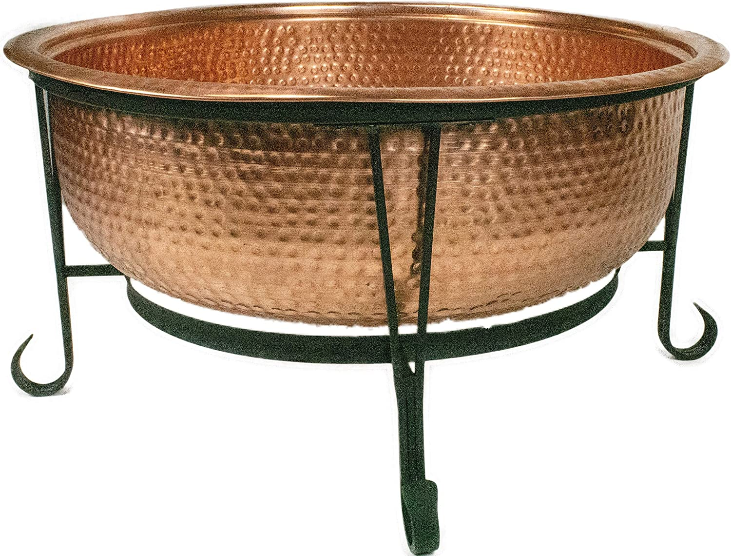 """Global Outdoors 26"""" Genuine Copper Fire Pit – Editor's Choice"""