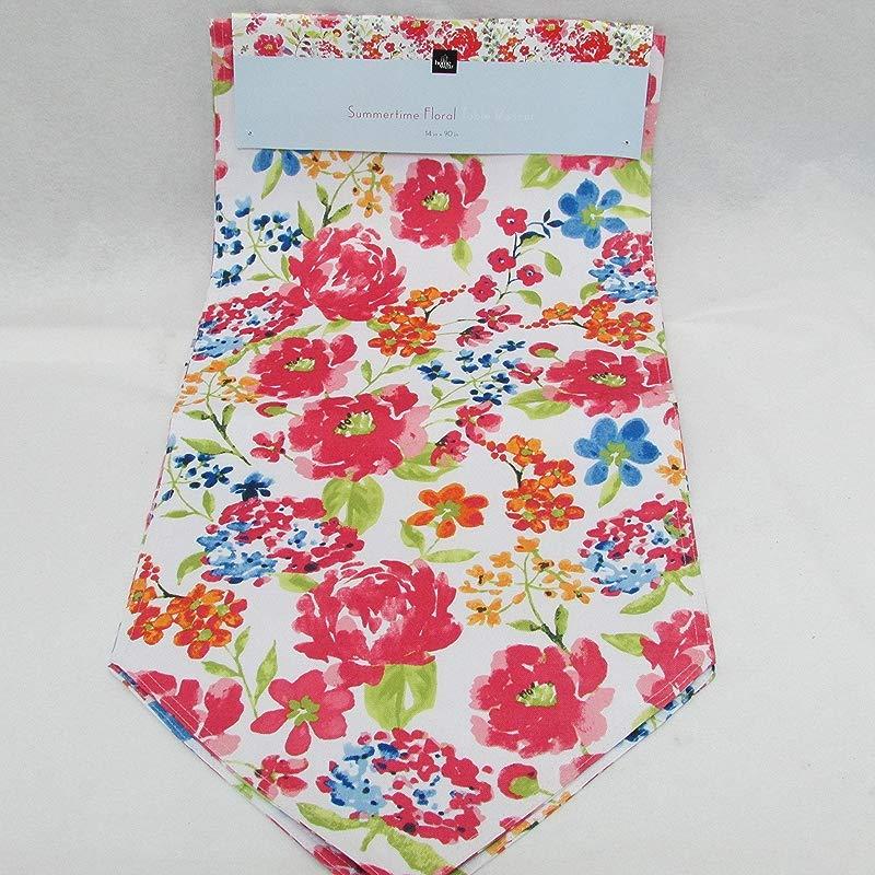 Homewear Summertime Floral 14 X 90 Table Runner