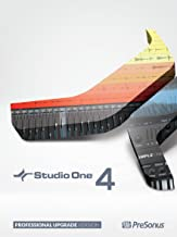 PreSonus Studio One 4 Professional Upgrade from Professional or Producer - all versions [Online Code]