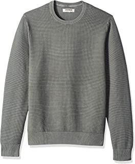 Goodthreads Men's Soft Cotton Thermal Stitch Crewneck Sweater