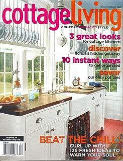 Cottage Living Magazine January/February 2005
