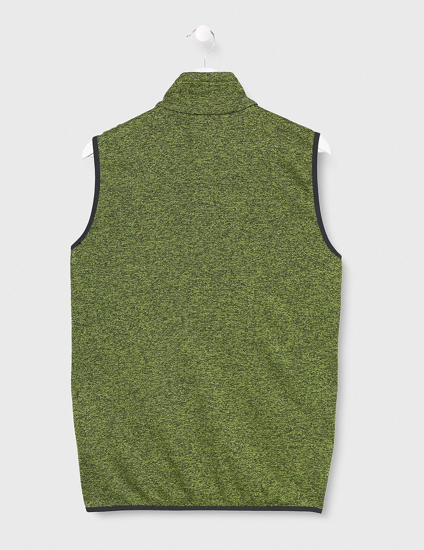 Gilet Uomo CMP Fleeceweste Knit Tech Full Zip 30h5897