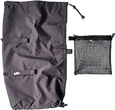 LensCoat RainCoat Rain Cover Sleeve Protection for Camera and Lens  Large  Black  LCRSLBK