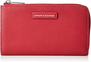 Armani Exchange Wallet for Women- Red
