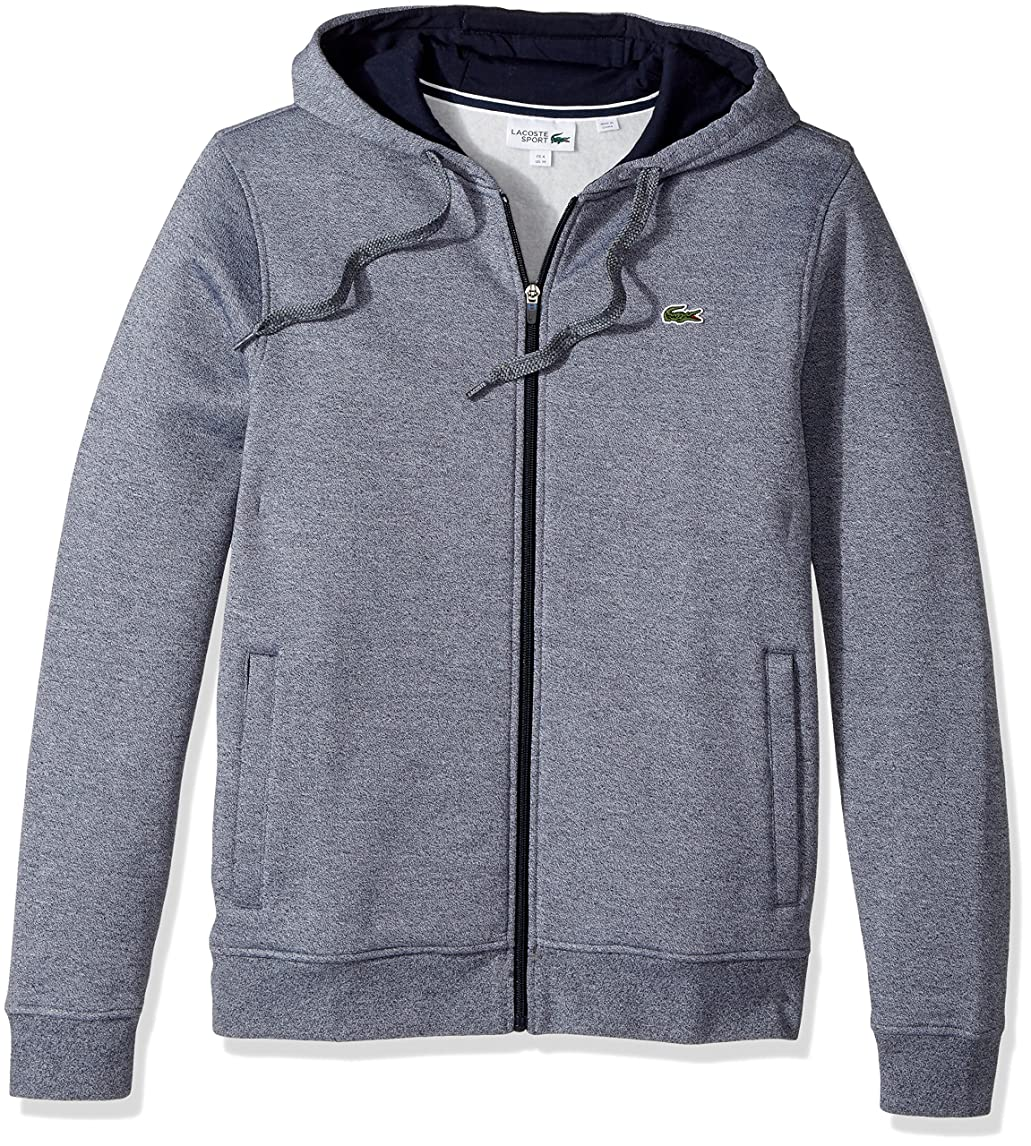 Lacoste Men's Full Zip Hoodie Fleece Sweatshirt tdufw62301845620