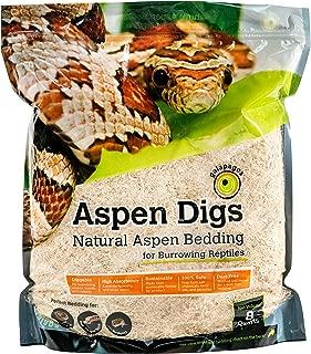 Galapagos (05064) Aspen Digs Shavings Bedding, 8-Quart, Natural