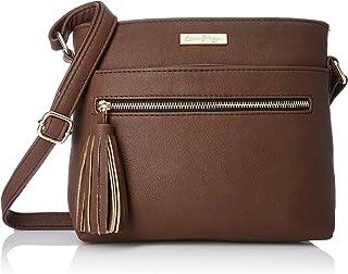 Lica Pezo Medium Crossbody in Faux Leather Sling Bag