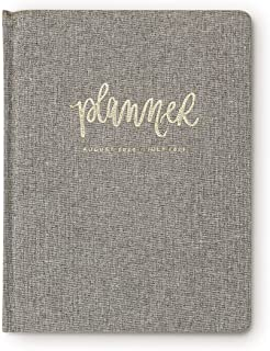 Sweet Water Decor 2020-2021 Academic Year Planner (August 2020 - July 2021) Inspirational Organizer, Weekly/Monthly Dated Hardcover Agenda Book (Grey)
