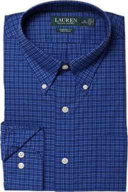 LAUREN Ralph Lauren - Classic Fit No Iron Cotton Dress Shirt