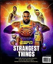 ESPN Magazine October 2018 NBA PREVIEW, LEBRON JAMES Cover