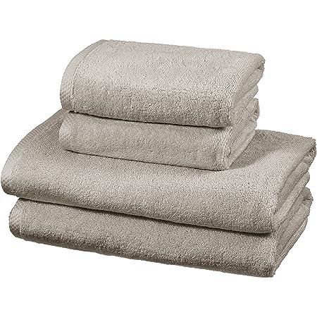 Basics colores resistentes, 2 toallas de ba/ño Juego de toallas color azul/ón