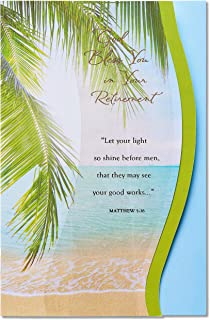 American Greetings Religious Retirement Card (Religious)