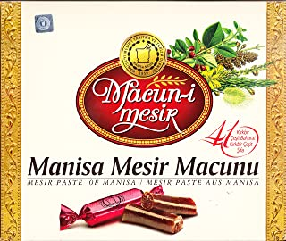 Mesir Paste of Manisa - Ottoman Tradational Mixed 41 Different Types of Plants and Spices 195 g 6.8Oz