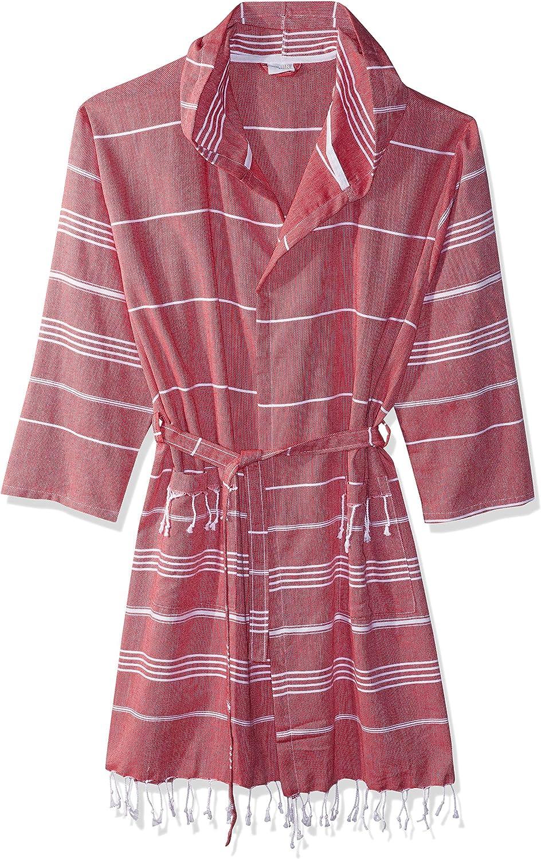 Cacala Hooded Bathrobe Pestemal Time sale Fabric Ranking TOP3 100% Cotton Kimon Turkish