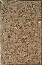 """Linon Ashton Collection Natural Fiber Rugs, 1'10"""" x 2'10"""", Gold"""