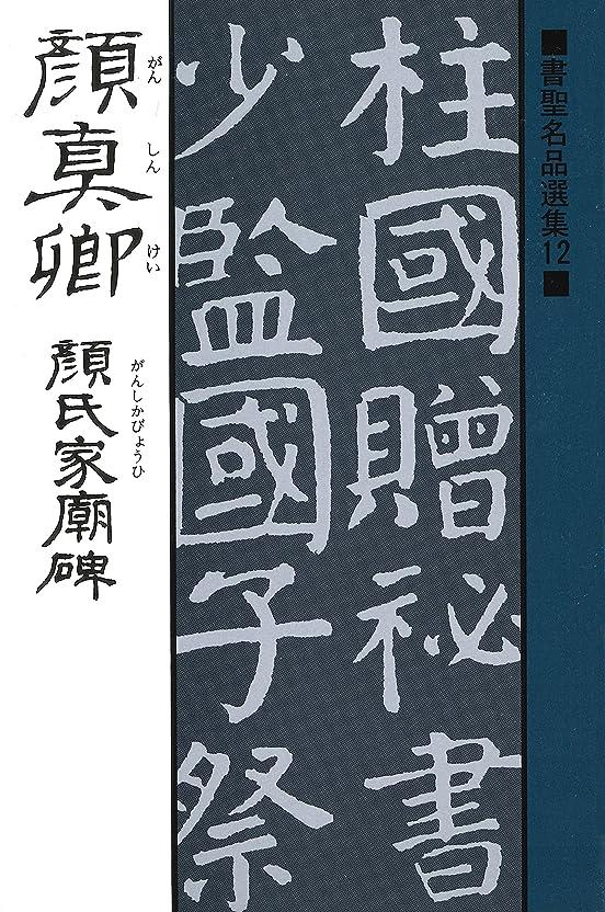 弾薬唯一濃度書聖名品選集(12)顔真卿 : 顔氏家廟碑