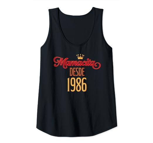 Amazon.com: Womens Mamacita desde 1986 33th Birthday gift ...