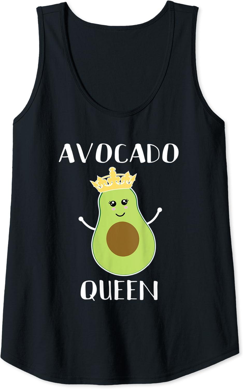 AVOCADO QUEEN T SHIRT VEGAN HEALTHY EAT FRUIT VEGETARIAN FUNNY BOSS LADY GIRL NE
