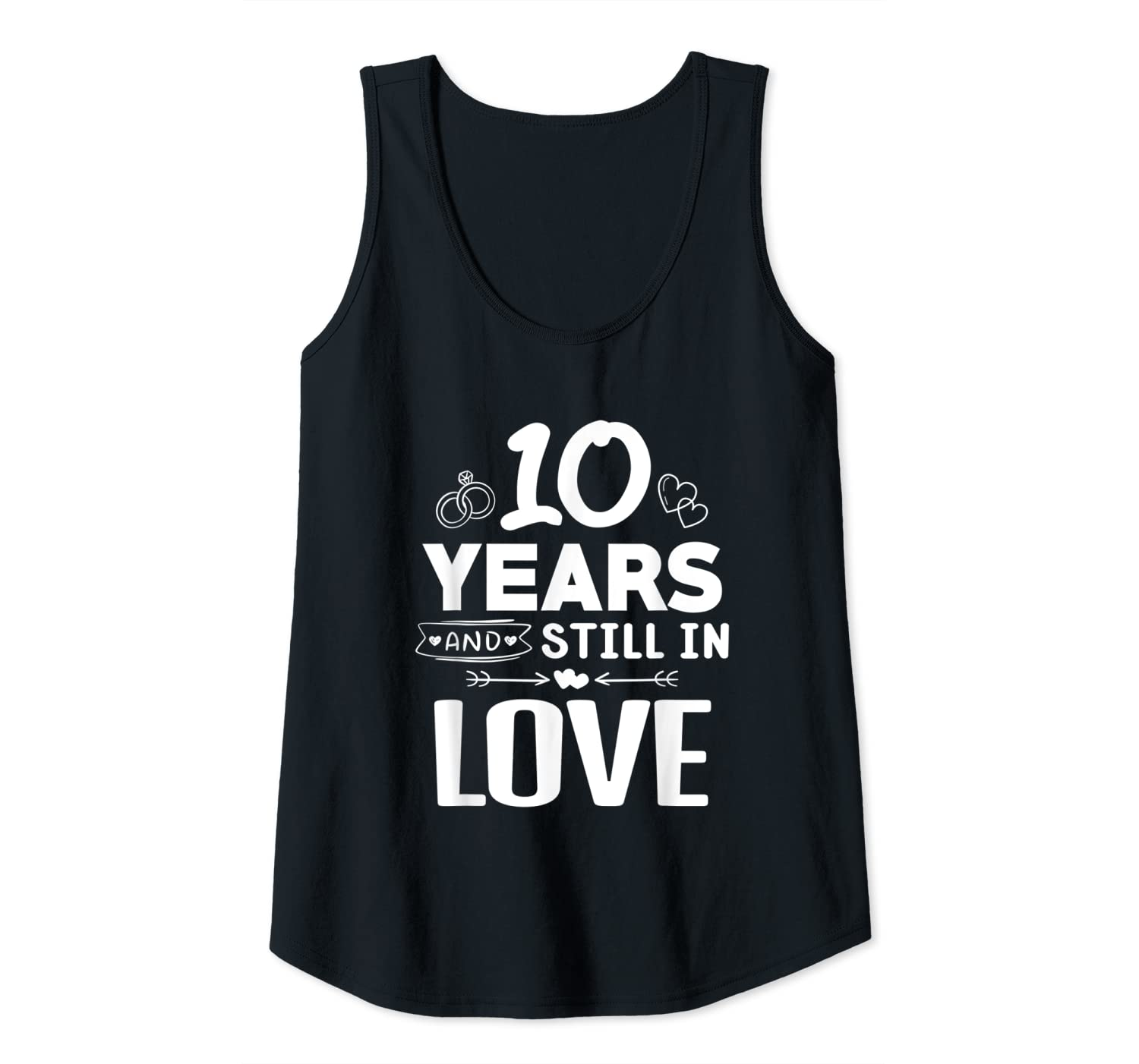 10th Wedding Anniversary Gift For Husband: Happy 10th Wedding Anniversary Gift For Husband Wife Flowy