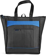 Rachael Ray ChillOut Thermal Tote Bag for Cold or Hot Food, Insulated, Reusable, Black