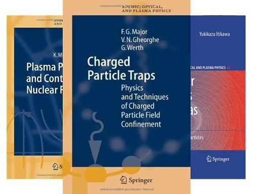 Springer Series on Atomic, Optical, and Plasma Physics (50 Book Series)