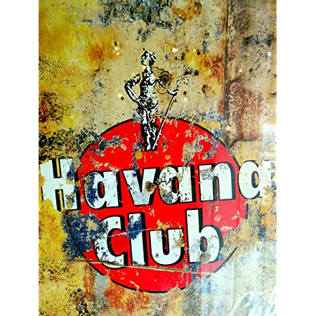 Havana retro vintage style metal sign man cave shed Garage
