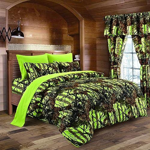 Lime Green Bedding: Amazon.com