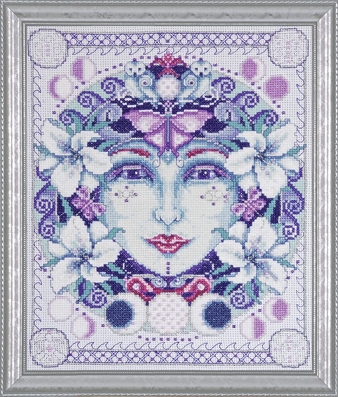 Design Works Counted Cross Stitch kit - Moon