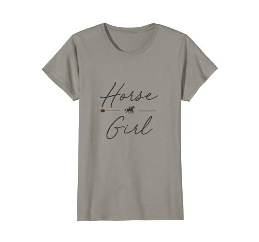 9d0a9fc09 Amazon.com  Horse Girl T-Shirt Country Girl HorseBack Rider ...