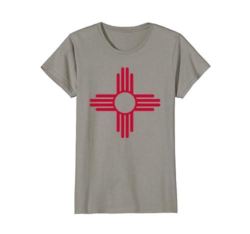 Amazon Red Yellow Zia Sun Shirt Retro New Mexico Flag Tee