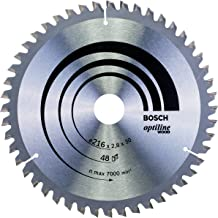 Bosch accessoires cirkelzaagblad Optiline Wood 216 x 30 x 2,8 mm, 48