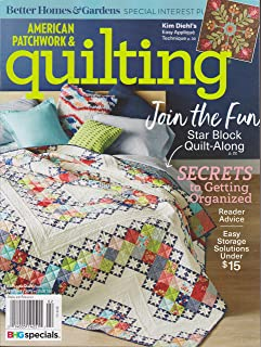 american patchwork and quilting, february 2018