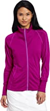 adidas Golf Women's Contrast Stitched Full-zip Training Top