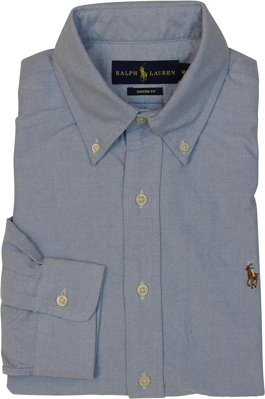 Ralph Lauren Polo Men's Long Sleeve Button-Down Oxford Shirt