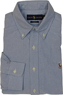 blue ralph lauren button down shirts
