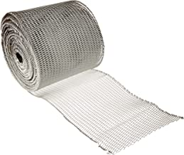 Protetor de calha 1750 da Manufacturers Direct 6-Inc x 6 metros de alumínio