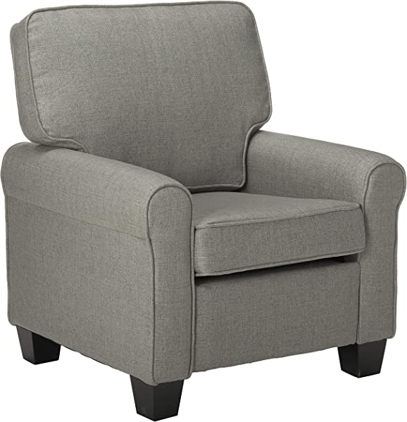 Christopher Knight Home 307522 Patricia Club Chair Mid Century Modern Minimal Gray Black Rose Gold