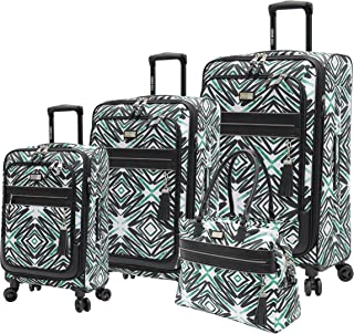 Tribal Luggage Set 4 Piece Expandable Suitcase With Spinner Wheels (One Size, Tribal)