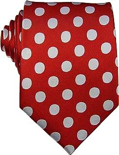 New Classic Men's Polka Dots Silk Tie Necktie …