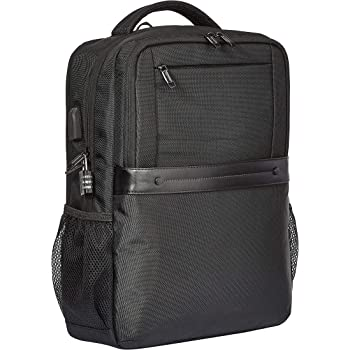 AmazonBasics Anti-Theft Premium Backpack - Black