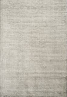 Safavieh Mirage Collection MIR234R Hand-Knotted Graphite Wool Area Rug (8' x 10')