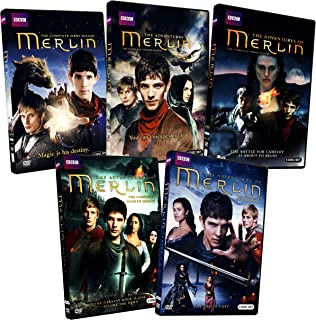 The Adventures Of Merlin: The Complete Season 1 - 5