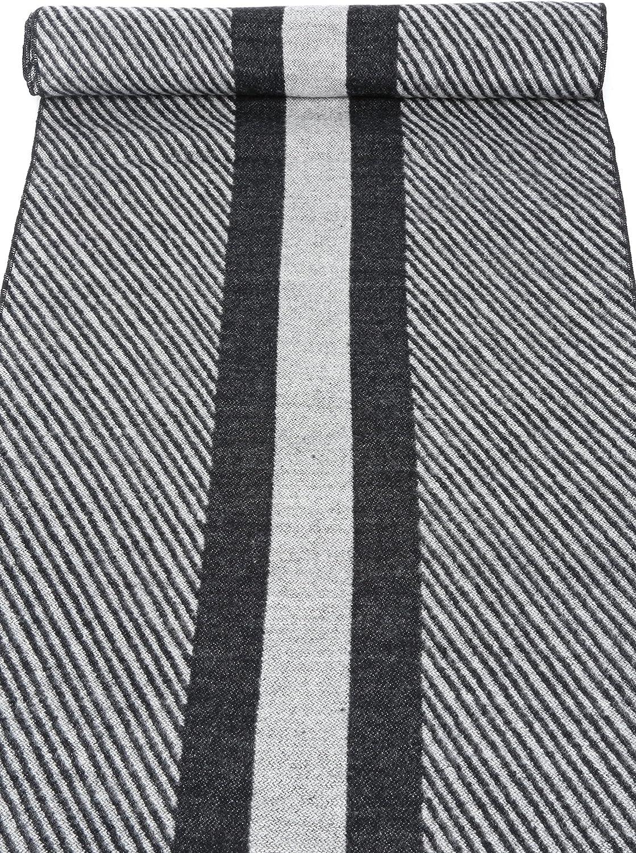 Sakkas Kopa Lange Mid Gewicht weiche Seidenfransen Patterned Pashmina-Schal/Schal Weiß