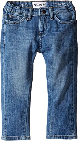DL1961 Kids - Toby Mid Wash Denim in Rafter (Infant)